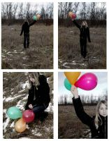 Balloon Effect. by Diaaninja
