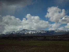 Mountains in St. George, Utah by celticpath