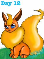 Flareon by TheWitchAtsu
