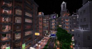 Aurora City Project [Minecraft] [05] by NickPolyarush