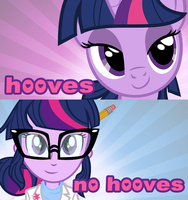Hooves or No Hooves? by PixelKitties