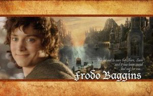 Frodo Baggins Wallpaper by drkay85