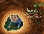 James and the Giant Peach by imaginarysam