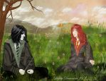 DH Lily and Severus by Lily-Atelier