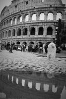 Colosseum Reflection by EverestPhoto