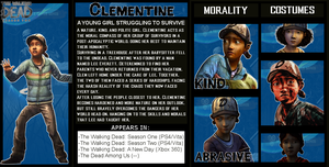 The Crossover Game: Clementine Bio by LeeHatake93