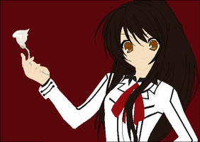 Vampire Knight OC: Tsuki Yami by VioletKnightly