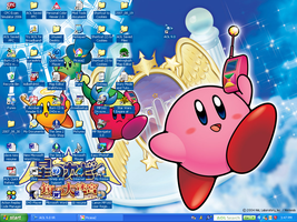 Kirby Desktop :D by LuigiIII