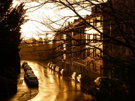 The street of pure gold by eReSaW