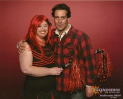 Me with James Callis by gurihere