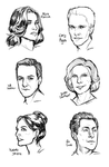 The Good Wife sketches by Ciorane