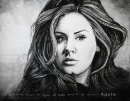 Adele by skepticmeek