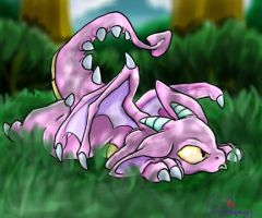 Its a Pink Dragon..FEAR by nyausi