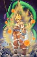 Goku by Kyle-Fast