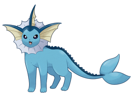 [C] Vaporeon by Mizzi-Cat