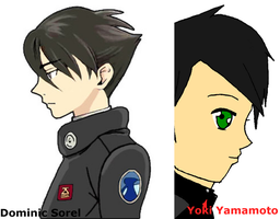 Coincidental Observation - Dominic and Yoki by yumithespotter