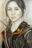 Katniss Everdeen  The Hunger Games by twinkelsparky1