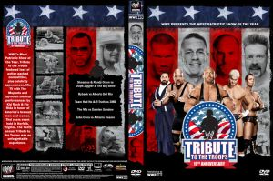 WWE Tribute to the Troops 2012 DVD Cover by Chirantha