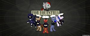 FOB Equestria Banner by FirstAwesomePlatoon