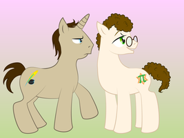 Ponified Trey and Matt by Konstance