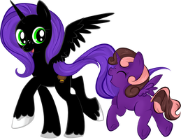 NightOwl and Jade by Quila-Quila