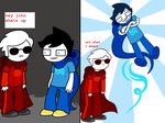 Homestuck miniComic 1 of 2 by Aviarei