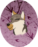 Kira Headshot-Gift for Mitsuki-Wolf by Karu12