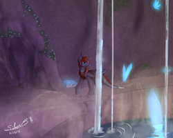 Finding ones perfect lair by RykuBloodwing