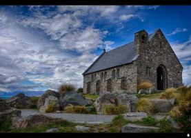The Church Of the Good Shepard by shadowfoxcreative