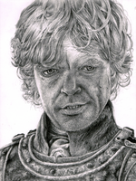 Tyrion Lannister [portrait] by IceRider098