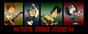 Total Drama Island by 8liana8