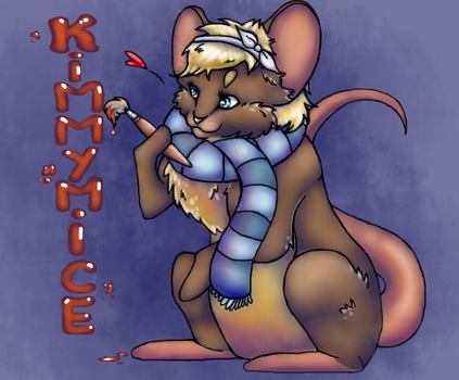 Artist mouse by Narufirefox