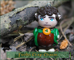 Frodo Baggins Clay Charm by Comsical