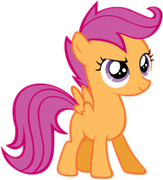 Scootaloo by Shelmo69