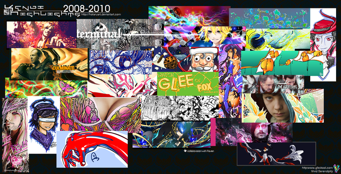 Highlights from 2008-2010 by hotaruart