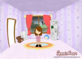 Anna's Room - early design by Sughly