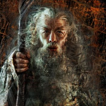 Gandalf by Olga-Tereshenko
