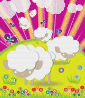 dream sheeps by Lucora