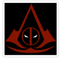 Mercenary's Creed - The Sticker by PsychosisEvermore
