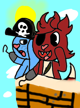 Russel And Foxy, Sailin The Ocean Blue! With Story by FelicityKendal