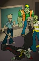 The Street of the Living Dead by Shapshizzle
