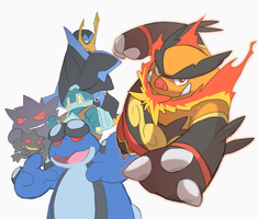 some favorite pokemon by marshtompkd