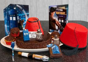 Doctor Who cake by StellaVD