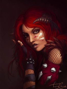 FacePainting + by xSheepi