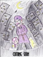 Detective Waluigi (concept poster) by mrm64