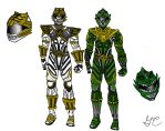 My Movie  Concept - White and Green Rangers by LavenderRanger