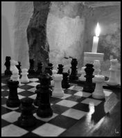 White Moves First BW. by FotoGraficamenteLu
