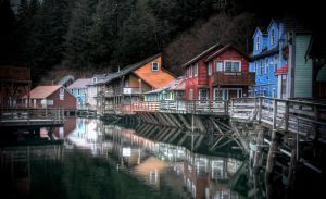 Ketchikan Creek 010210 by Muskeg