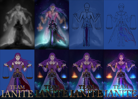 Step by Step Team Ianite by free4fireYouTube