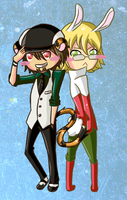 Tiger and Bunny by XxPonyPuffPrincessXx